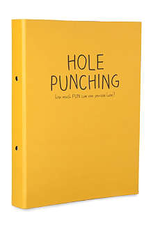 HAPPY JACKSON Hole Punching ring binder