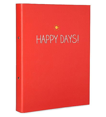 HAPPY JACKSON Happy Days ring binder