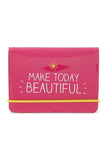 HAPPY JACKSON Make today beautiful card holder