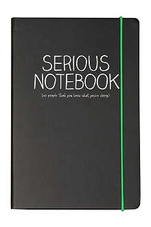 HAPPY JACKSON A5 'Serious' notebook