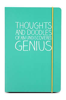 HAPPY JACKSON Undiscovered Genius A5 notebook