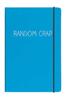 HAPPY JACKSON Random Crap A5 notebook