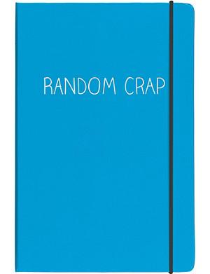 HAPPY JACKSON Random Crap A5 notebook