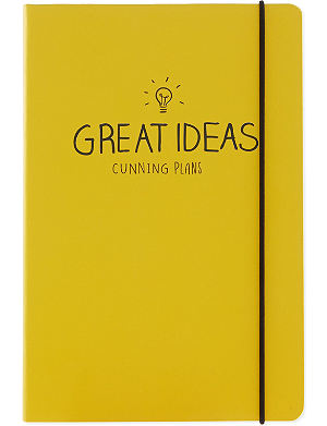 HAPPY JACKSON Great Ideas notebook