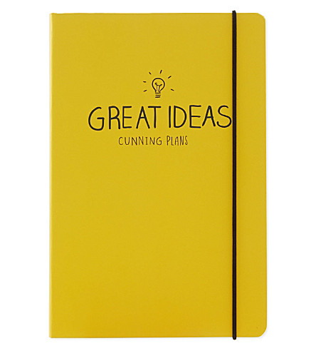 HAPPY JACKSON Great Ideas notebook