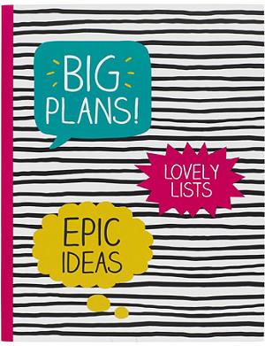 HAPPY JACKSON Big Plans large notebook