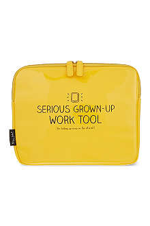 HAPPY JACKSON Serious Grown Up Work Tool tablet case