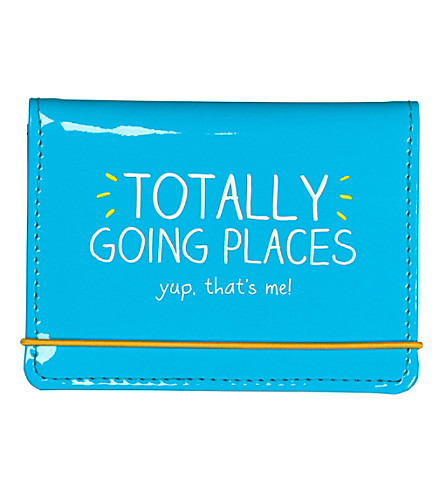 WILD & WOLF Totally Going Places card holder