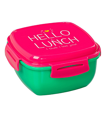 WILD & WOLF Happy Jackson Hello Lunch Salad Box