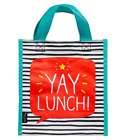 WILD & WOLF Yay Lunch! Handy tote bag