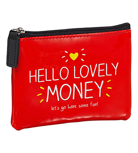 WILD & WOLF Hello Lovely Money coin purse