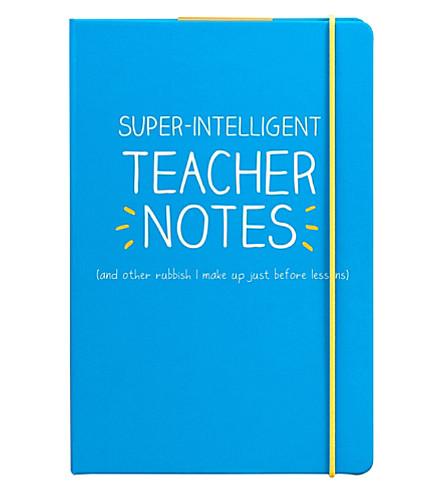 WILD & WOLF Teacher notes notebook A5