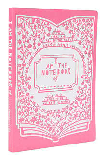 WILD & WOLF Rob Ryan A5 notebook