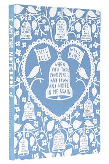 WILD & WOLF Rob Ryan Bells A5 notebook
