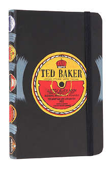 WILD & WOLF Ted Baker Little Black Book A6 address book