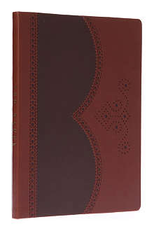 TED BAKER Brogue large notebook