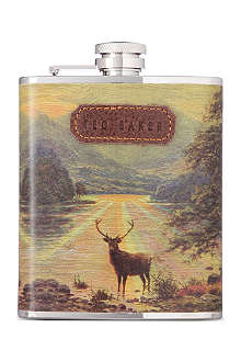WILD & WOLF Stag hip flask