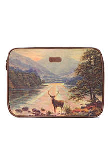 WILD & WOLF Ted Baker Stag laptop sleeve 13