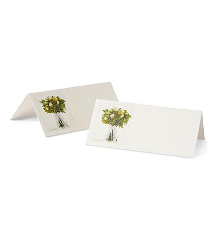 SUSAN O'HANLON Wedding collection set of six place cards