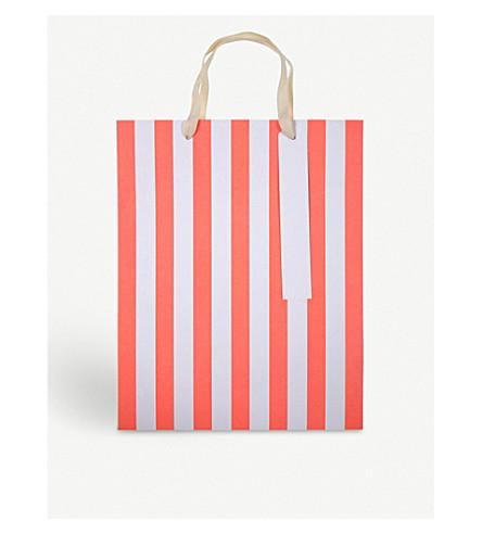 MERI MERI Large striped gift bags pack of three