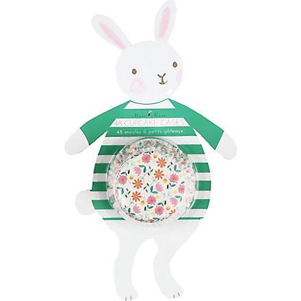 MERI MERI Floral bunny cupcake cases
