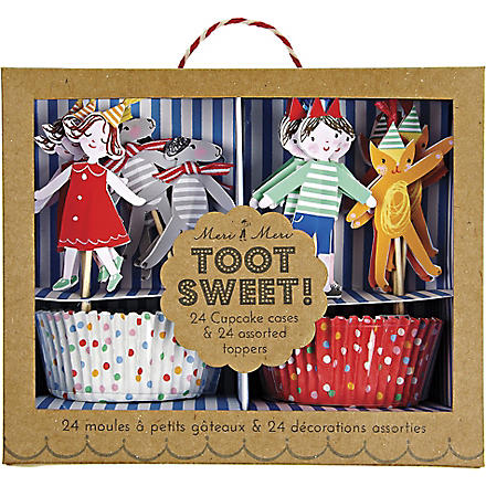 MERI MERI Toot Sweet children cupcake kit