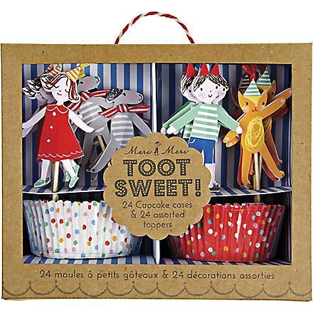 MERI MERI Toot Sweet children cupcake kit