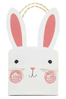 MERI MERI Bunny party bags pack of 8
