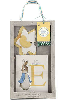 MERI MERI Peter Rabbit Easter garland kit