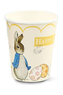 MERI MERI Peter Rabbit party cups pack of 12