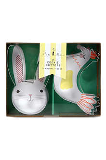 MERI MERI Funny Bunnies Easter cookie cutters