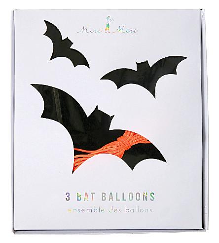 MERI MERI Bat balloons pack of 3