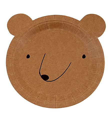 MERI MERI Small Bear plate