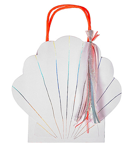 MERI MERI Shell party bags pack of 8
