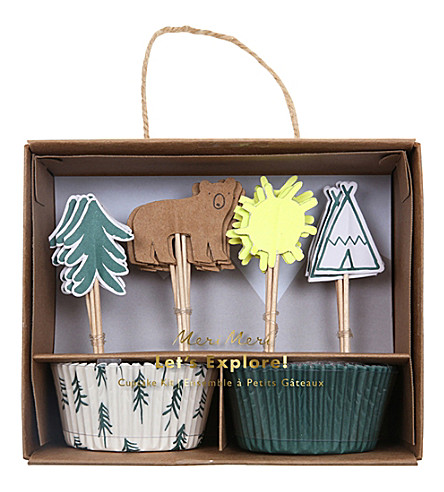 MERI MERI Let's Explore! cupcake kit