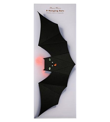 MERI MERI Hanging bat decorations pack of 8