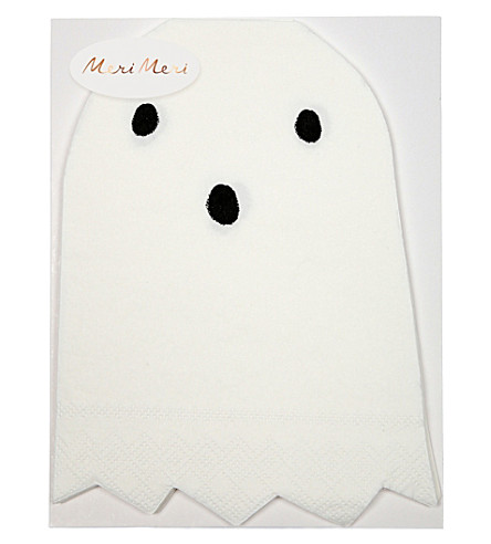 MERI MERI Ghost napkins pack of 20