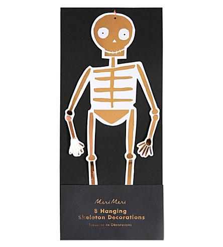MERI MERI Hanging skeletons