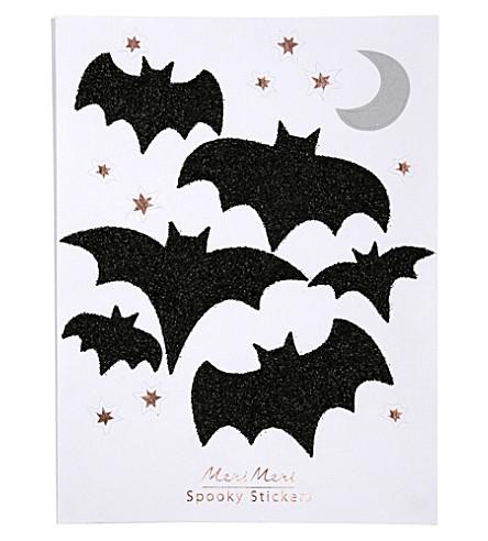 MERI MERI Glitter bats stickers