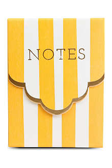 MERI MERI Stripy Orange notebook