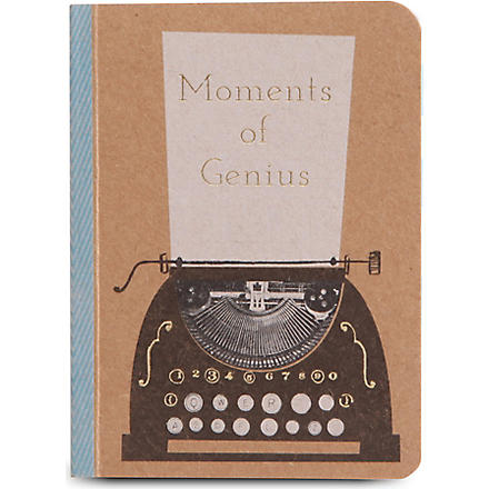 MERI MERI Kraft typewriter notebook