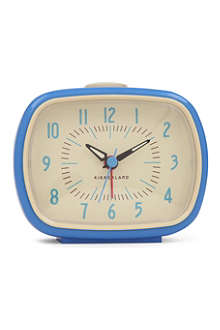 KIKKERLAND Blue retro alarm clock