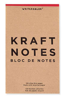 KIKKERLAND Kraft medium-sized note book