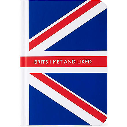 ARCHIE GRAND 'Brits I met and liked' notebook