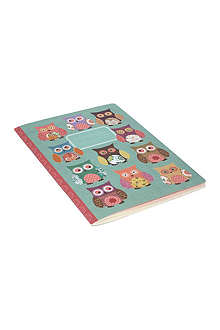 GO STATIONERY Owls large exercise book