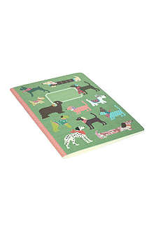 Dogs large exercise book