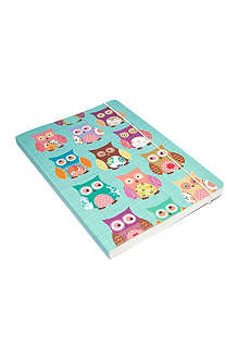 GO STATIONERY Owls A5 notebook