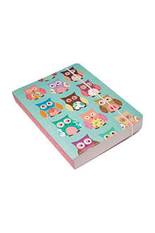 GO STATIONERY Owls A6 notebook