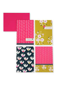 GO STATIONERY Tulip garden notecard set
