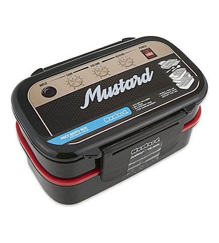 MUSTARD 摇滚盒老式收音机便当盒